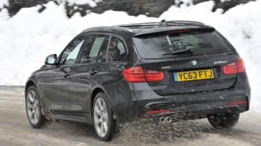 BMW 330d xDrive M Sport Touring rear