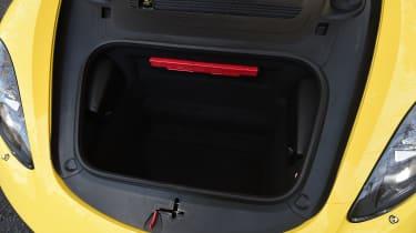 Porsche Cayman - front boot
