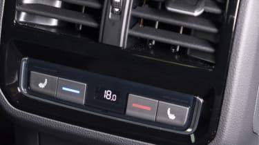 Volkswagen Arteon review - gold rear controls