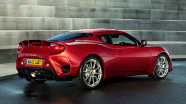 Lotus Evora GT410 - rear static