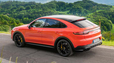 Porsche Cayenne Turbo Coupe - rear static