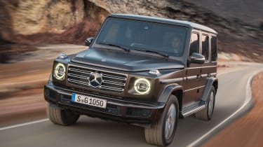 Mercedes G-Class - front tracking