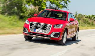 Audi Q2 - front action detail