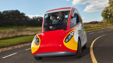 Shell Project M city car - front cornering 5