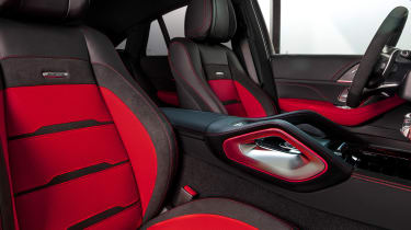 Mercedes-AMG GLE 53 Coupe - front seats