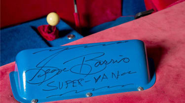 George Barris' Supervan - autograph