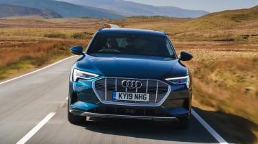 Audi e-tron - full front