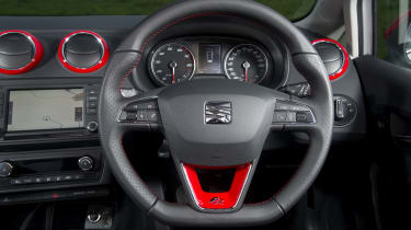 SEAT Ibiza ST steering wheel