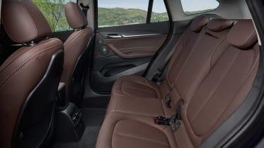 BMW X1 - rear seats