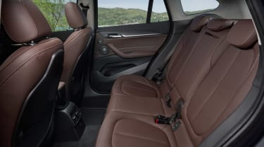 BMW X1 - rear seats
