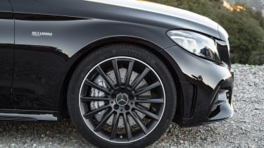 New Mercedes C-Class Coupe - wheel