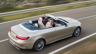 Mercedes E-Class Cabriolet 2017 - AMG Line rear tracking