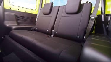 Suzuki Jimny - rear seats