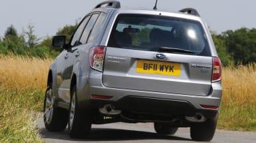 Subaru Forester Diesel rear cornering