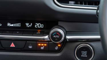 Mazda CX-30 - climate controls