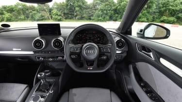 Audi A3 vs Volvo V40 vs Volkswagen Golf - A3 interior