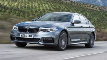 BMW 5 Series - front