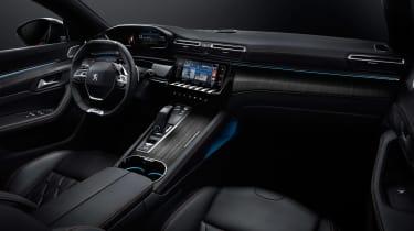 New Peugeot 508 - cabin