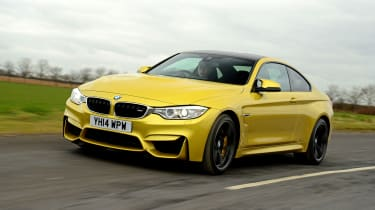 BMW M4 - front action