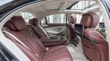 Mercedes S-Class - rear seats