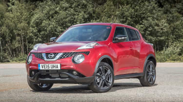 Nissan Juke - front static