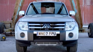 Mitsubishi 4Work SWB front grille