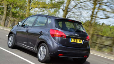 The Venga competes in the supermini MPV sector with the Nissan Note and Ford B-Max.