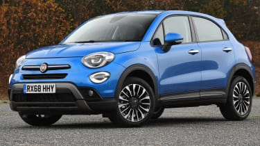 fiat 500x static front
