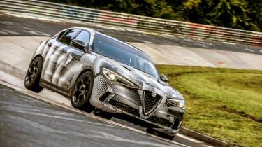 Alfa Romeo Stelvio Nurburgring 9