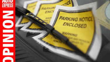 Opinion - parking fine