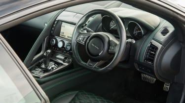 Lister Thunder interior black