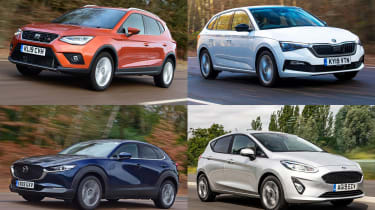 Best new cars for under £250 per month - header