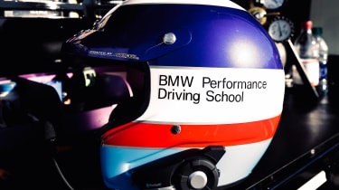 BMW drift record - helmet