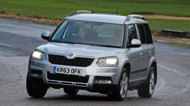 Skoda Yeti - most reliable cars
