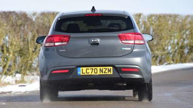Kia Rio facelift - rear action