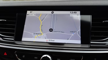 Vauxhall Insignia Sports Tourer GSi - sat-nav