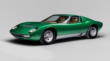 Lamborghini Miura - side profile