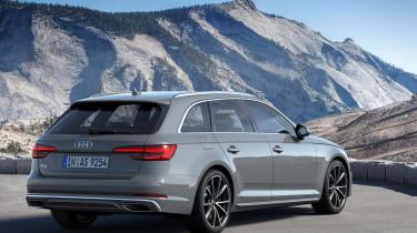 Audi A4 Avant facelift - rear