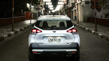 Nissan Kicks SUV - rear