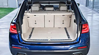 New BMW 5 Series Touring - boot