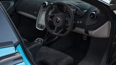 Mclaren 570s review - steering wheel