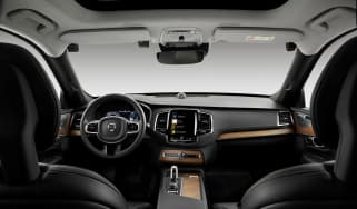 Volvo drink drive camera interior