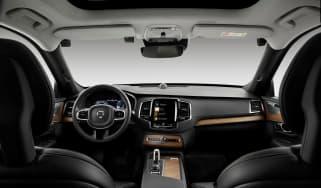 Volvo drink drive camera interior