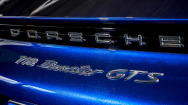 Porsche Boxster GTS 4.0 PDK badge