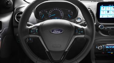 Ford Ka+ Active - steering wheel