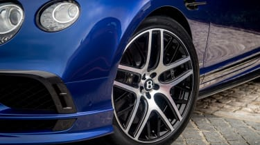 Bentley Continental Supersports 2017 - Moroccan Blue wheel
