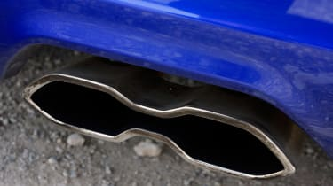 Ford Focus ST-3 exhausts