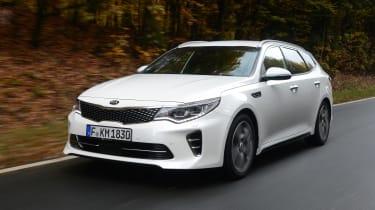 Kia Optima GT - front