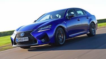 Lexus GS F - front