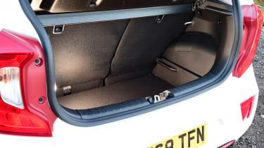 Used Kia Picanto Mk3 - boot